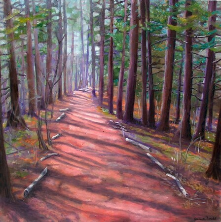 David Culham Trail, 24x24 SOLD