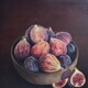 I Don't Give a Fig, Oil, 20x20, SOLD
