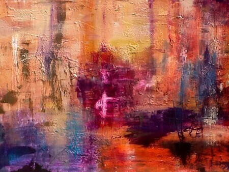 Colour Me Happy, 30x40 SOLD