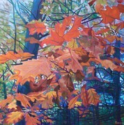 """Leave it to Fall"", Oil, 36x36 - SOLD"