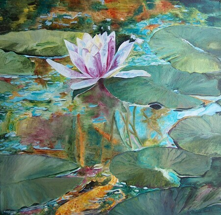 Lily Pond - SOLD
