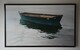 "MY Grandfathera Boat, Oil, Commission, ""on the wall"""