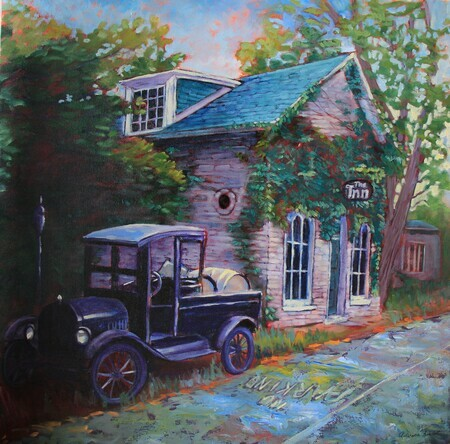 No Parking, Oil, 24x24 SOLD