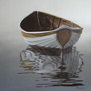 Silver Boat - SOLD