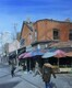 """The Kensington Vibe"", Oil, 30x36, $1,850 email arty.adri@live.com"